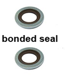 BONDED SEAL 10MM VITON 514241 16x10.2x1.5